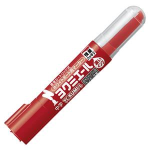 コクヨ PM-B502R ホワイトボード用マーカー ヨクミエール 中字・丸芯 赤