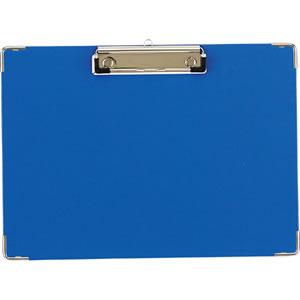 TYB-A4S 用箋挟 A4ヨコ ブルー 汎用品