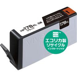 エコリカ ECI-HP178XLB-V リサイクルインク ブラック