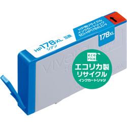 エコリカ ECI-HP178XLC-V リサイクルインク シアン