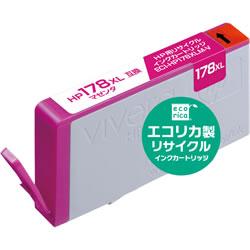エコリカ ECI-HP178XLM-V リサイクルインク マゼンタ