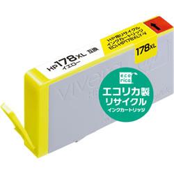 エコリカ ECI-HP178XLY-V リサイクルインク イエロー