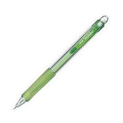 三菱鉛筆 M5100T.6 VERYシャ楽 透明緑軸 0.5mm