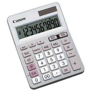 CANON LS-100TU 電卓 ミニ卓上タイプ 10桁