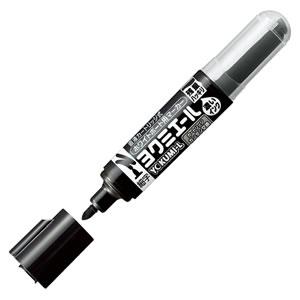 コクヨ PM-B501D ホワイトボード用マーカー<ヨクミエール> 細字・丸芯 黒