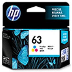 HP F6U61AA HP63 インクカートリッジ カラー