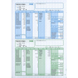 ソリマチ SR230 給与・賞与明細書(明細タテ型) 500枚入