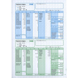 ソリマチ SR2301 給与・賞与明細書(明細タテ型)100枚入