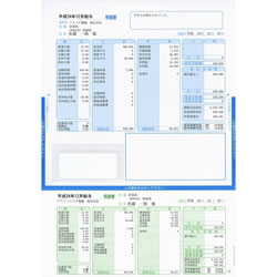 ソリマチ SR2321 給与・賞与明細書(封筒型・シール付き)100枚入