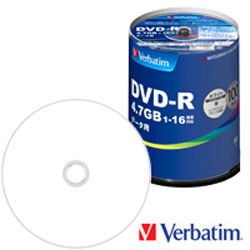 三菱化学 DHR47JP100V4 データ用DVD-R 4.7GB スピンドルケース