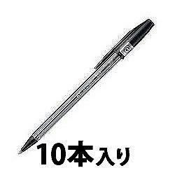 三菱鉛筆 SAR10P.24 油性リサイクルボールペン 0.7mm 黒 業務用パック