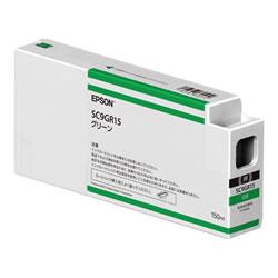 EPSON SC9GR15 インクカートリッジ グリーン 純正