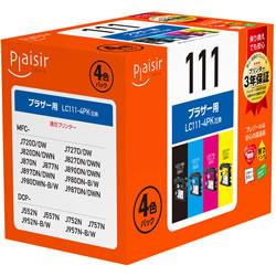 Plaisir PLE-BR1114P インク 4色パック 汎用品