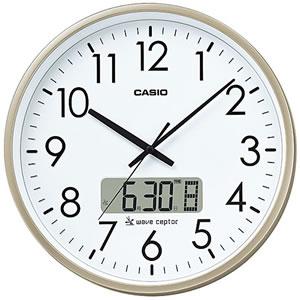 CASIO IC-2100J-9JF プログラム電波時計 シャンパンゴールド