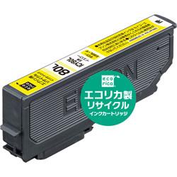 エコリカ ECI-E80L-Y リサイクルインク イエロー