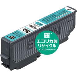エコリカ ECI-E80L-LC リサイクルインク ライトシアン
