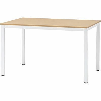 会議用テーブル 幅1500mm 奥行750mm ナチュラル