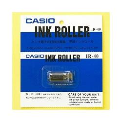 CASIO IR-40 電子レジスター用 インクローラー 黒