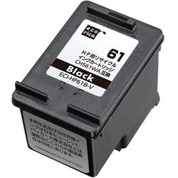 エコリカ ECI-HP61B-V リサイクルインク 黒