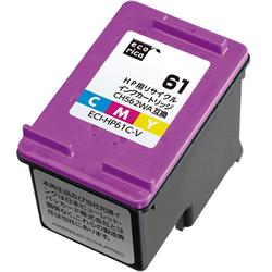 エコリカ ECI-HP61C-V リサイクルインク 3色カラー