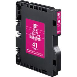 エコリカ ECI-RC41HM リサイクルインク マゼンタ