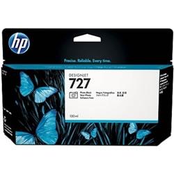 HP B3P23A HP727 インクカートリッジ フォトブラック 純正