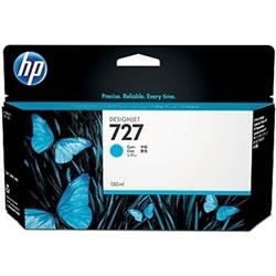 HP B3P19A HP727 インクカートリッジ シアン 純正