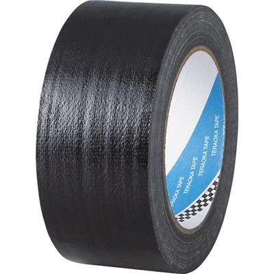 寺岡製作所 No.1535-50 包装用布テープ 幅50mm 黒