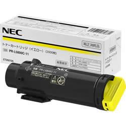 NEC PR-L5800C-11 トナーカートリッジ イエロー 純正
