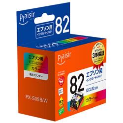 Plaisir PLE-E82CL インクカートリッジ カラー 汎用品