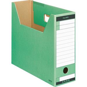 コクヨ A4-LFT-G ファイルボックス−FS(Tタイプ) A4ヨコ 背幅102mm 緑 A4