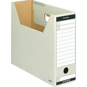 コクヨ A4-LFT-M ファイルボックス−FS(Tタイプ) A4ヨコ 背幅102mm グレー A4