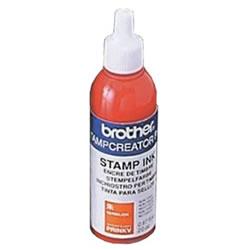 BROTHER PRINKV スタンプ用補充インク 朱 20cc