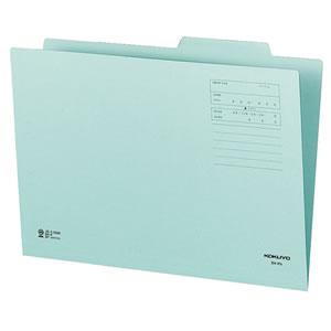 コクヨ B4-IFB 個別フォルダー(カラー) B4 青