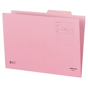 コクヨ B4-IFP 個別フォルダー(カラー) B4 ピンク