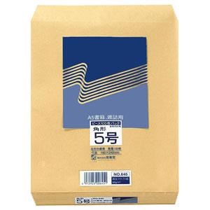 ピース 645 R40再生紙クラフト封筒 角5 85g/m2