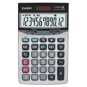 CASIO JF-120VB-N 本格実務電卓 12桁 ジャストサイズ