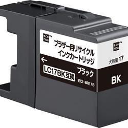 エコリカ ECI-BR17B リサイクルインク ブラック