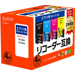 Plaisir PLE-ERDH-4P インク (顔料) 4色パック 汎用品