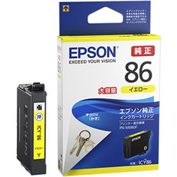 EPSON ICY86 大容量インクカートリッジ イエロー