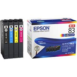EPSON IC4CL83 インクカートリッジ 4色パック