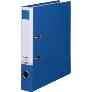 KINGJIM 3593アオ レバー式アーチファイル A4タテ 2穴 300枚収容 背幅50mm 青