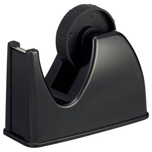 TGK-DS-BK テープカッター台 大巻・小巻両用 黒