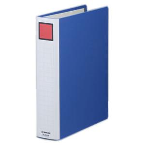 KINGJIM 2475AB キングファイルスーパードッチ <脱・着>イージー A4タテ型 とじ厚50mm 10冊セット 青