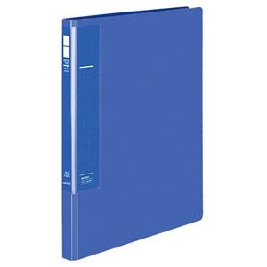 コクヨ フ-U510B レターファイル(ラクアップ) A4タテ 120~250枚収容 背幅23~36mm 青