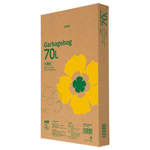 TANOSEE TG110-70N 半透明 ゴミ袋エコノミー 70L 110枚