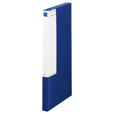 KINGJIM 1171アオ 図面ファイルGS A1 3つ折 背幅40mm 青