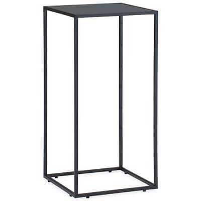 Kado15 電話台 木棚黒仕様 ブラック