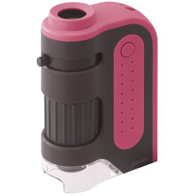 レイメイ藤井 RXT203P ハンディ顕微鏡ZOOM ピンク