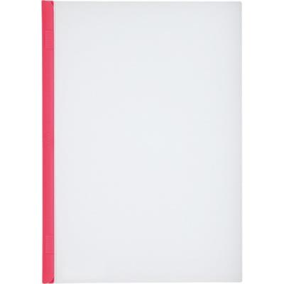 LIHIT G1720-3 リクエスト スライドバーファイル A4タテ 20枚収容 赤